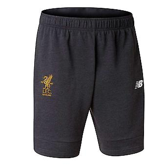 2017-2018 Liverpool Elite fritid Shorts (sort)