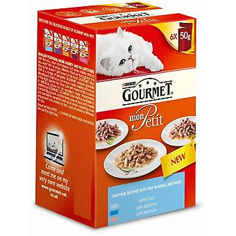 Gourmet Fish Selection (Cats , Cat Food , Wet Food)