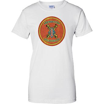 USMC 1st Bn 11th Marines - Ladies T Shirt