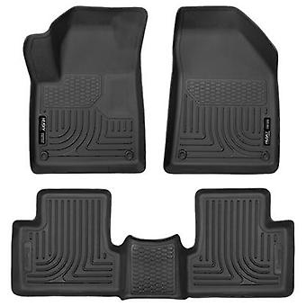 Husky Liners Floor Mats - WeatherBeater 99091 Black Fits:JEEP 2015 - 2015 CHERO