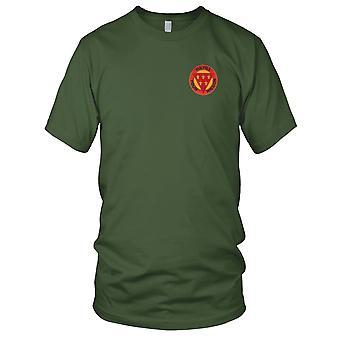 E.U. Exército artilharia de campo - 3ª Divisão bordada Patch - feminina T-Shirt