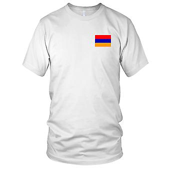 Armenien armenische Land Nationalflagge - Stickerei Logo - 100 % Baumwolle T-Shirt Kinder T Shirt