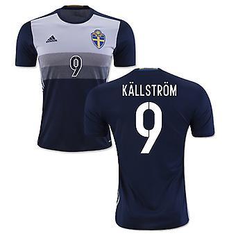 2016-2017 Sweden Away Shirt (Kallstrom 9)