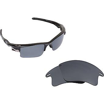 Fast Jacket XL Replacement Lenses Polarized Silver & Yellow by SEEK fits OAKLEY