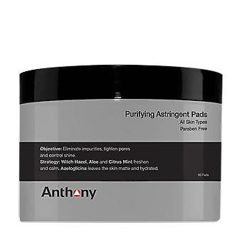 Anthony Purifying Astringent Pads (60 pads)