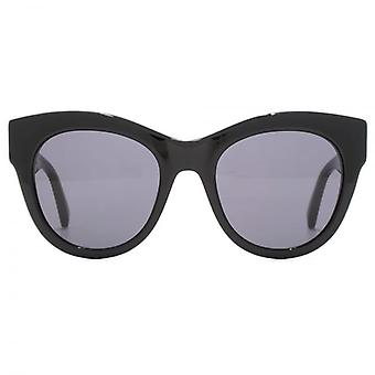 Stella McCartney New Falabella Cateye Sunglasses In Black Gold