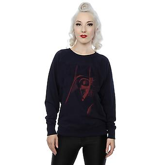 Star Wars Women's Vader Red Face Sweatshirt