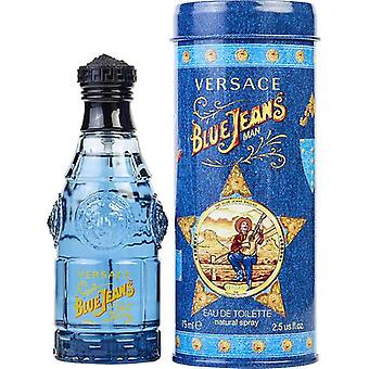 Blue Jeans By Gianni Versace Edt Spray 2.5 Oz (New Packaging)