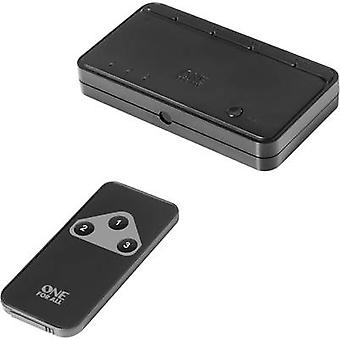 3 ports HDMI switch One For All SV 1630 3D playback mode, LED di