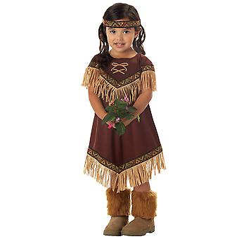 Lil Indian Princess Pocahontas Native American Infant Toddler Girl Costume