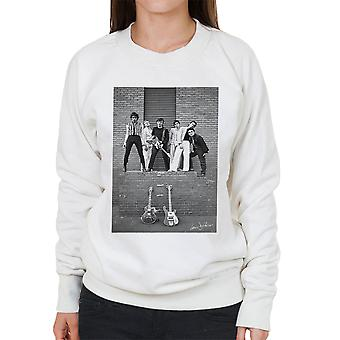 Boomtown Rats At Slough Technical College 1977 Women's Sweatshirt