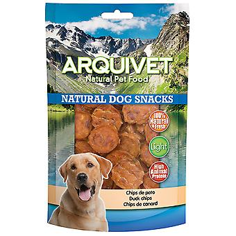 Arquivet Natural Snack for Dogs Duck Chips (Psy , Smakołyki , Eko produkty)