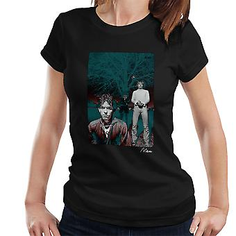 The Cure In Front Of Trees Women's T-Shirt