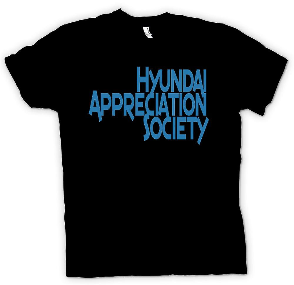 T-shirt-Hyundai Appreciation Society