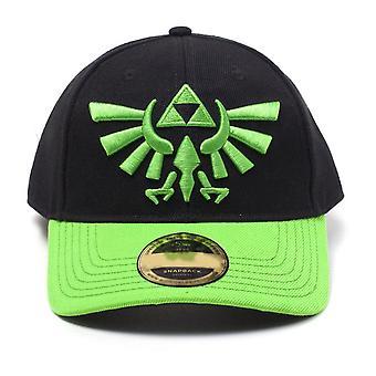 The Legend of Zelda Cap Hyrule Crest Logo gebogen Bill Cap zwart (BA743103ZEL)