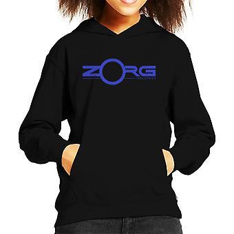 Das fünfte Element Zorg Industries Logo Kind das Sweatshirt mit Kapuze