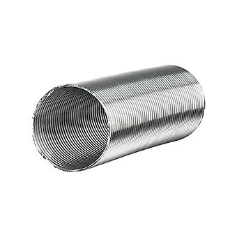 Aluvent flexible air duct folded spiral-seam pipe in various sizes