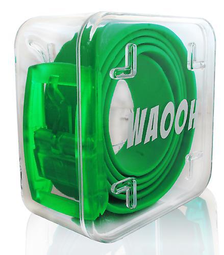Waooh - Waooh verde correa plástica