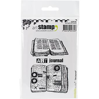 Carabelle Studio Cling Stamp A7-Art Diary
