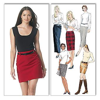 Misses' Skirts In 5 Lengths-DD (12-14-16-18) -*SEWING PATTERN*