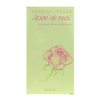 Revlon Fleurs de Jontue Rose De Mai Spray Cologne 2.5Oz New In Box (Vintage)