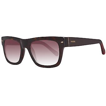 Fossil mens Brown sunglasses