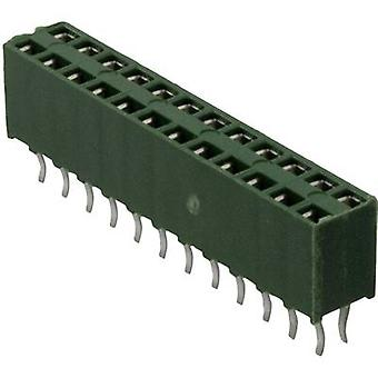 TE Connectivity Receptacles (standard) AMPMODU HV-100 Total number of pins 20 Contact spacing: 2.54 mm 1-215307-0 1 pc(s