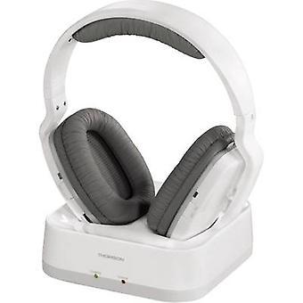 Thomson WHP3311W Cordless (1075099) Headphones Over-the-ear Volume control White