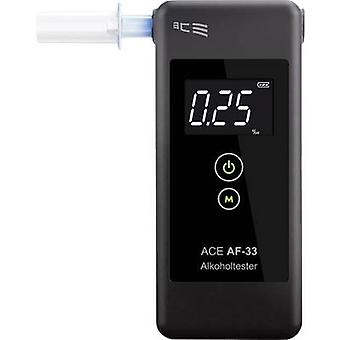 Breathalyser ACE AF-33 Dark grey 0.00 up to 5.00 ‰ Incl. display