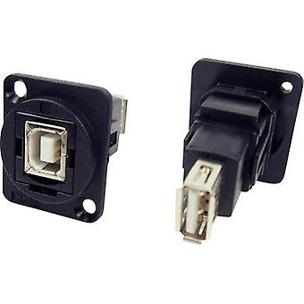 XLR Adapter USB 2.0 B socket on USB 2.0 A socket Adapter, built-in CP30207N Cliff Content: 1 pc(s)