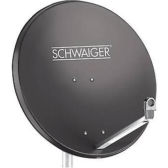 Schwaiger SPI998.1 SAT-Antenne 75 cm reflektierendes Material: Aluminium-anthrazit