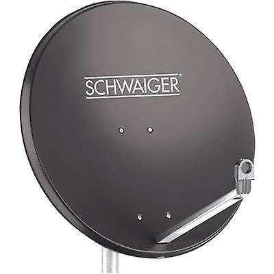 Schwaiger SPI998.1 SAT antenna 75 cm Reflective material  Aluminium Anthracite