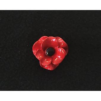 Union Jack slijtage Poppy broche Matt