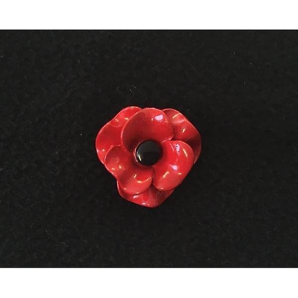 Union Jack Wear Poppy Brooch Matt