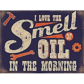 Love The Smell Of Oil Fridge Magnet
