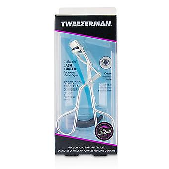 Tweezerman Curl 60* Lash Curler (For Round Shaped Eyes) - -