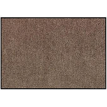 Salonloewe tvättbar dörr mattor 50 x 75 cm monokrom 11 färger