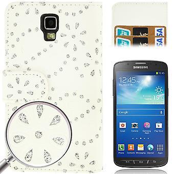 携帯電話カバー携帯ケース携帯電話サムスン サムスンギャラクシー S4 アクティブ GT I9295 の白で