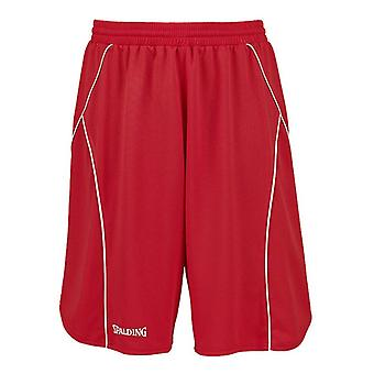SPALDING Basketball-Crossover-Trainings-Shorts [rot]