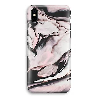 iPhone XS Full Print Case (Glossy) - Pink stream