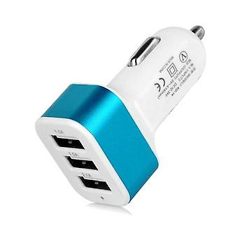 Stuff Certified ® 10-Pack High Speed ??3-Port Charger / Blue Carcharger