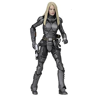 Valerian and the city of 1000 planets action figure Laureline material: plastic, manufacturer: NECA.