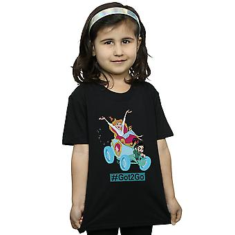 Disney Girls Wreck It Ralph 2 Cinderella And Vanellope T-Shirt