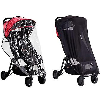 Mountain Buggy Nano All Wetter Cover-Set (Sonne & Sturm Cover)