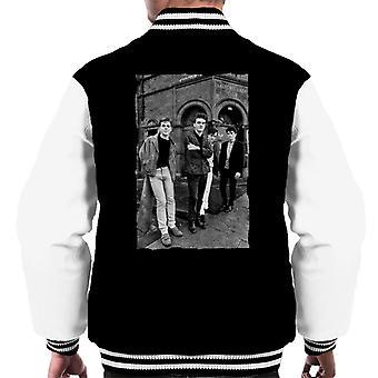 The Smiths Alternative Shot Salford Lads Club 1985 Men's Varsity Jacket