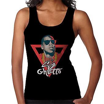 Jay-Z So Ghetto Lied Titel Damen Weste