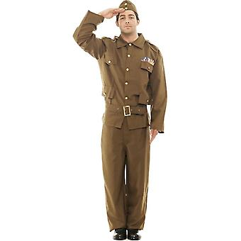 Home Guard Army Fancy Dress Costume