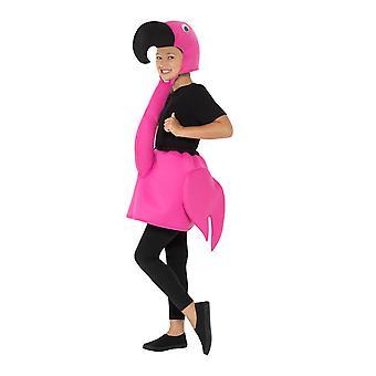 Scherza il Costume del fenicottero, Animal costume bambini, mezzo età 7-9