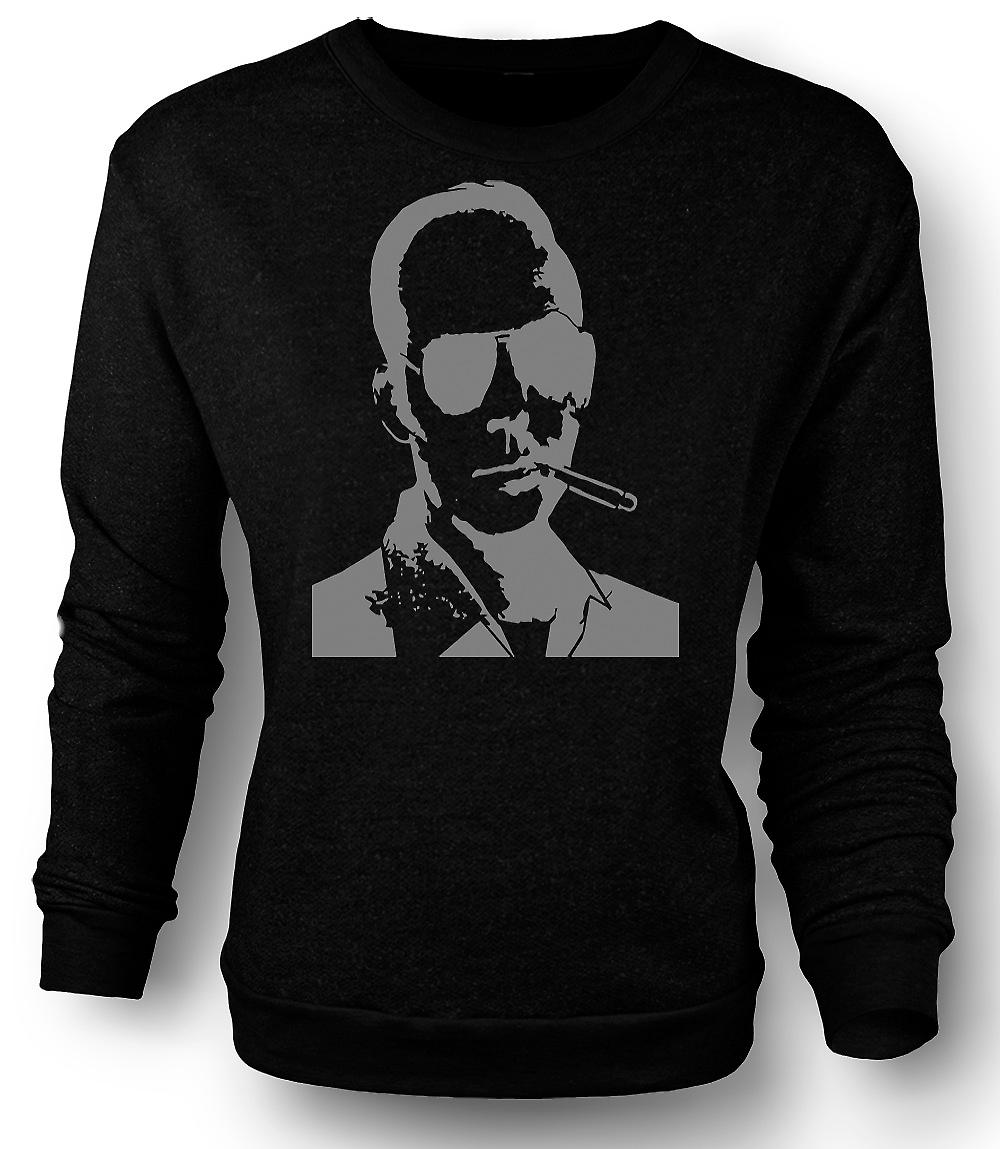Mens Sweatshirt Hunter S Thompson Fear And Loathing