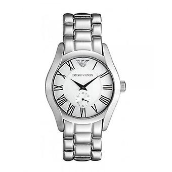 Emporio armani ar0647 silver stainless steel mens classic watch